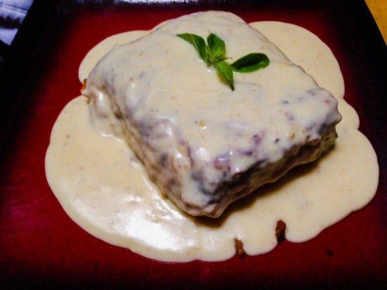 Mullu Cafe: Lasaña andina ... Exquisita