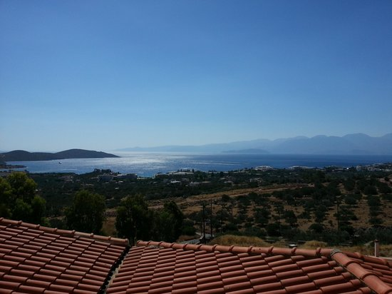 Elounda Residence : Morning view from room 9