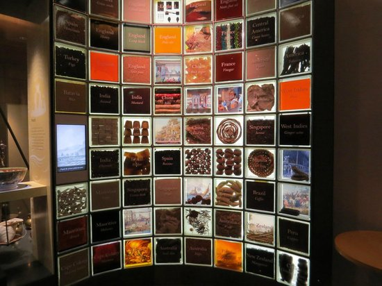 Museum of Sydney: Wall of spices