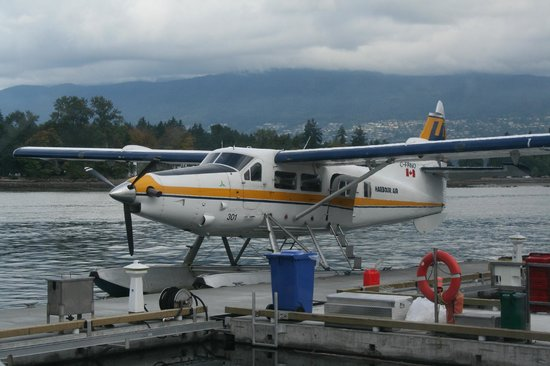 Harbour Air Seaplanes: Overcast, but still great!