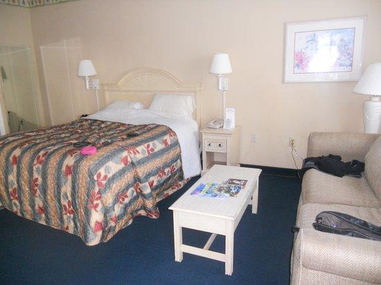 The Enclave Hotel & Suites: Bedroom area