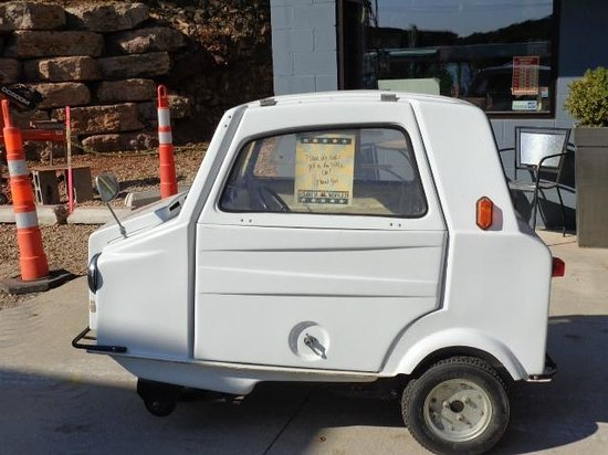 Antique Archeology: The little car they bought for Danielle