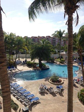 DoubleTree by Hilton Hotel Grand Key Resort - Key West: Vu de notre balcon le matin