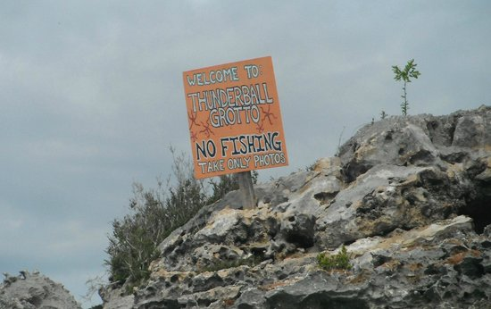 Exuma Water Tours: Thunderball grotto - very cool place