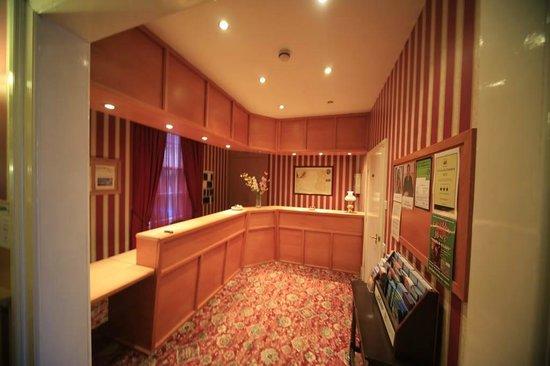 Trevone Hotel: reception