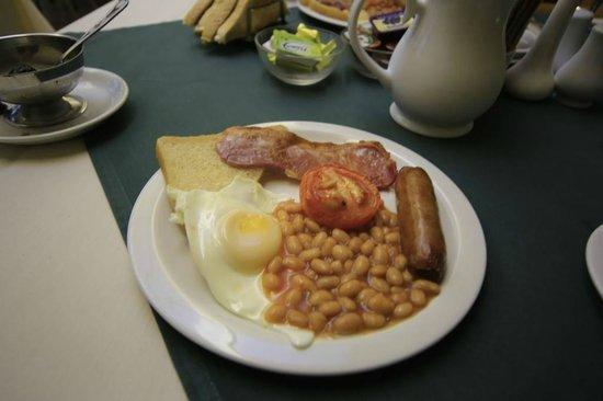 Trevone Hotel: breakfast