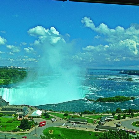 Niagara Falls Marriott Fallsview Hotel & Spa: Beautiful view