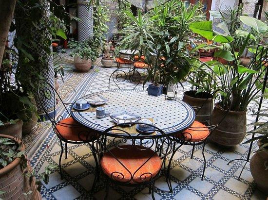 Riad Al Bartal : Breakfast area