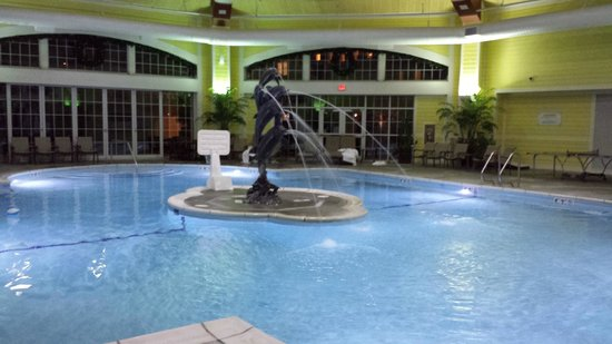 French Lick Springs Hotel: Pool inside Room 2537