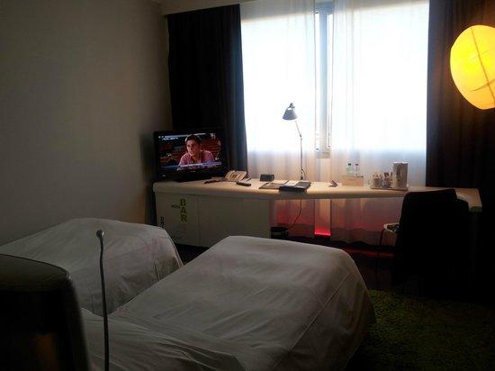 Radisson Blu es. Hotel, Roma : la finestra della camera