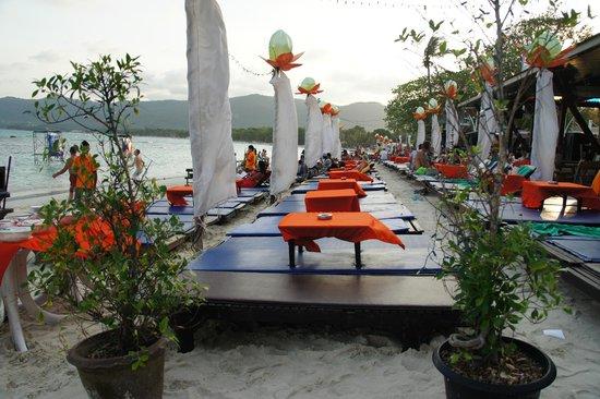 Ark Bar Beach Resort: la plage