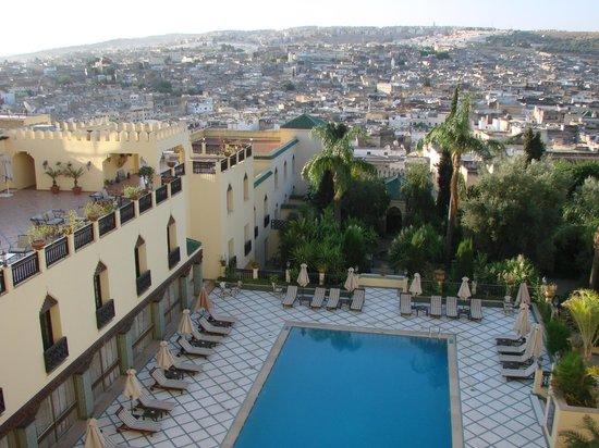 Sofitel Fes Palais Jamai: Vista de Fez obtida da janela do quarto - Sotiel Palais Jamais