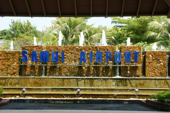 Ark Bar Beach Resort: welcome to koh samui airport
