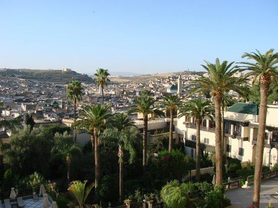 Sofitel Fes Palais Jamai: Vista de Fez obtida da janela do quarto - Sofitel Palais Jamais