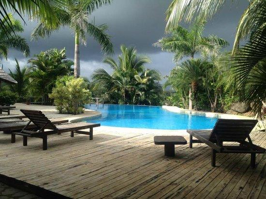 El Sabanero Eco Lodge: pool area