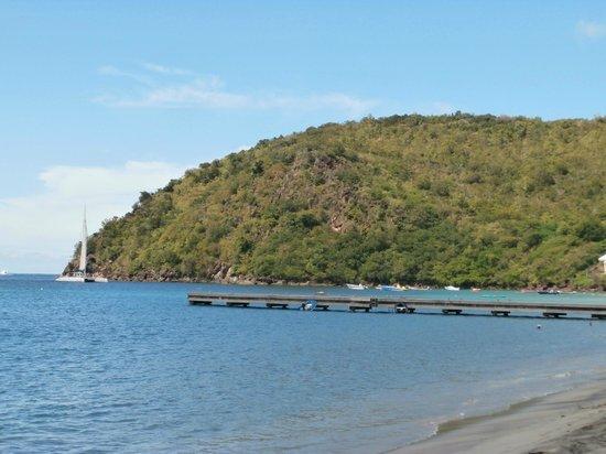 Le Littoral : vue imprenable de la terrasse sur mer