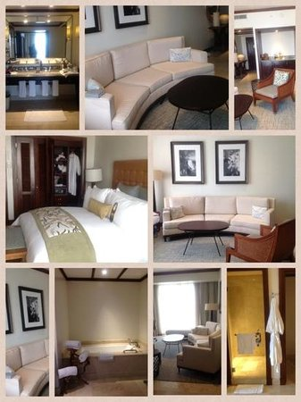 Real InterContinental Costa Rica at Multiplaza Mall: Our beautiful suite!