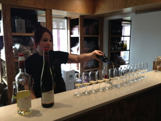Niagara Vintage Wine Tours: Pillitteri Estates Winery- Tour Tasting
