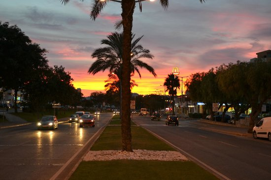 Hotel Apartamento Brisa Sol: Beautiful Sunset