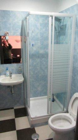 Blue Rain: душевая+туалет