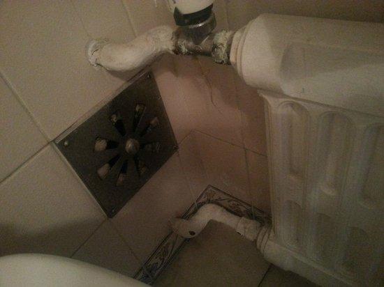 Hotel Eduardo VII: Banheiro muito sujo.