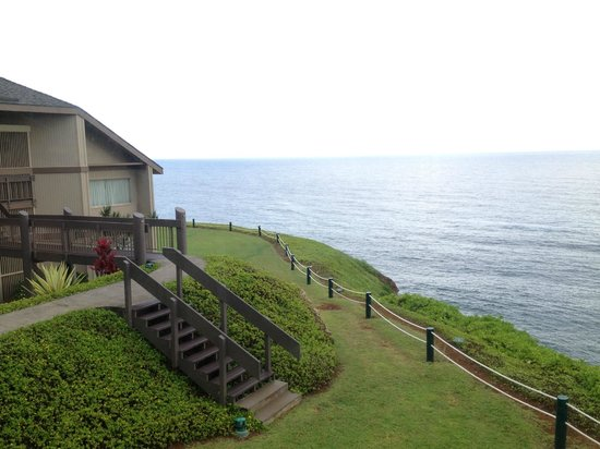 Marc at Princeville Pali Ke Kua : View from Dining Area