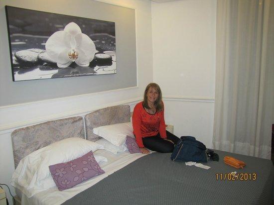 Hotel Traiano: habitacion del hotel