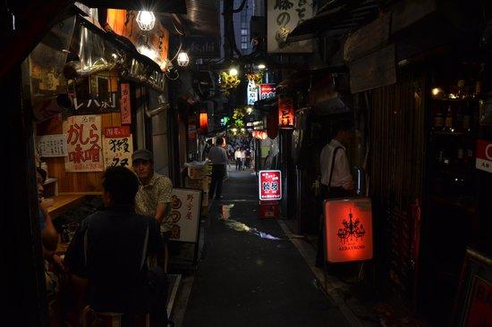 Omoide Yokocho: street
