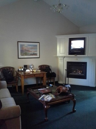 Sycamore Mineral Springs Resort and Spa : Sitting Room