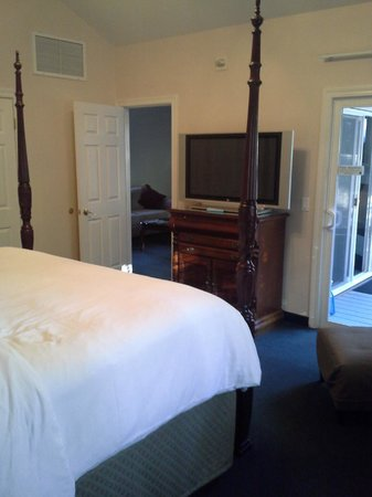 Sycamore Mineral Springs Resort and Spa: Bedroom