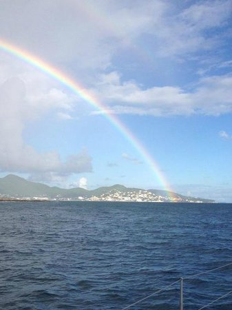 Divi Little Bay Beach Resort: Rainbow in St. Maarten