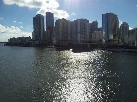 Mandarin Oriental, Miami: View from my balcony.