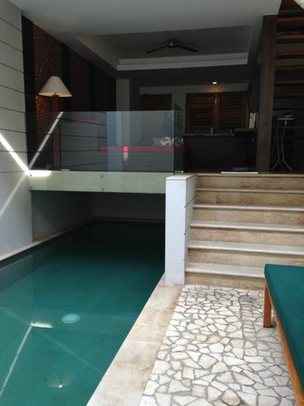 Villa Kayu Raja : living room