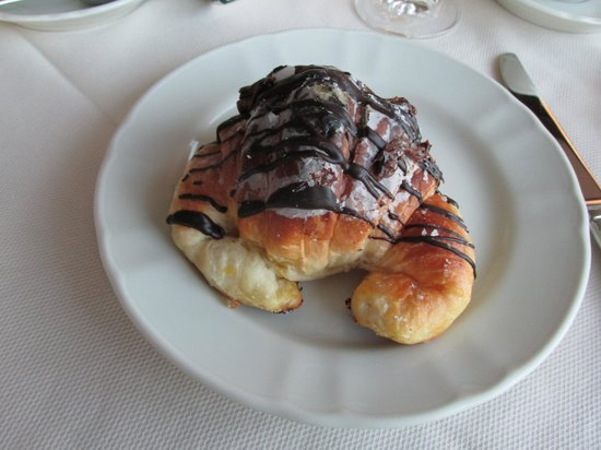 Barberini Hotel : The amazing Nutella filled pastry - oh how I miss you!