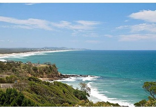 The Point Coolum Beach: View from Terraces