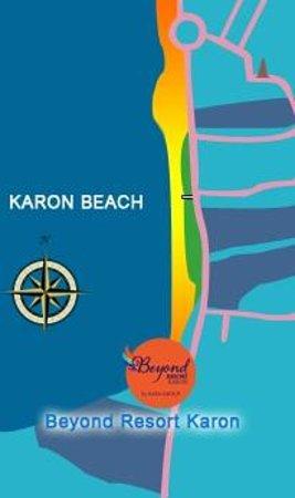 Beyond Resort Karon : Map