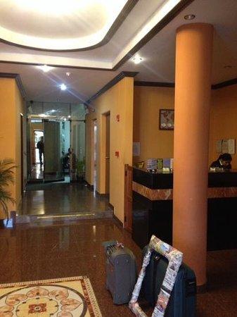 Hotel Caribe: Recepccion