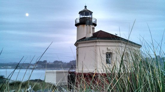 Coquille River Lighthouse: Close up Lighthouse Access