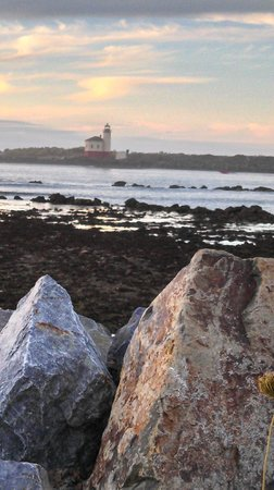 Coquille River Lighthouse: Lighthouse Across the Bay