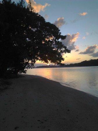 Erakor Island Resort & Spa: Sunset from Villa 1
