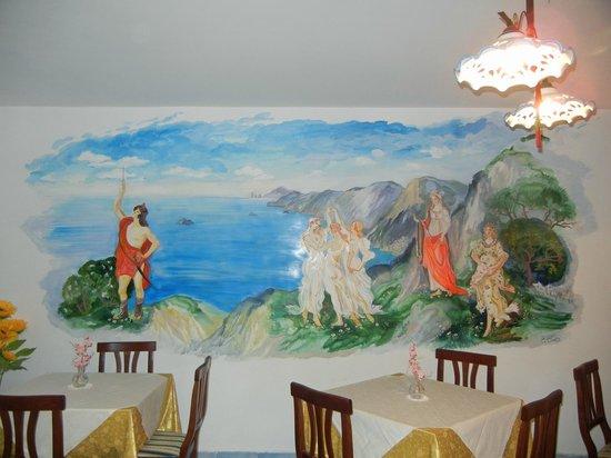 Nido Degli Dei: Breakfast area
