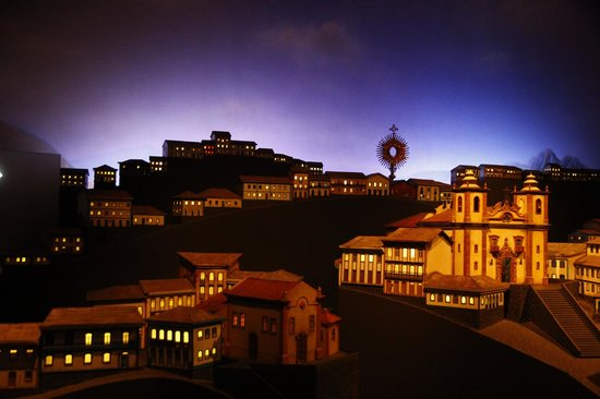 Memorial Minas Gerais – Vale: Sala sobre as cidades históricas