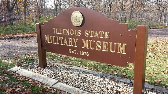 Illinois State Military Museum : main entrance