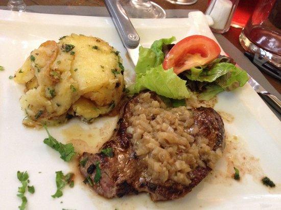 La Taverne du Croquant : Pièce de bœuf et pommes de terre sarladaise