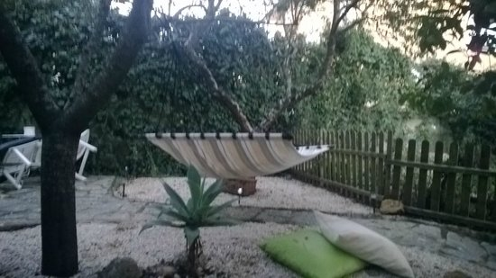 Perfect Spot: They even have a hammock!