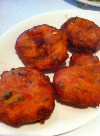 Sunset Ammoudi Taverna : tomato balls