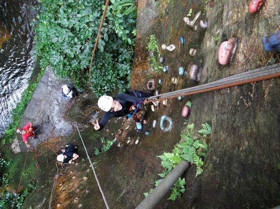 Hacienda Guachipelin: Rock Climbing