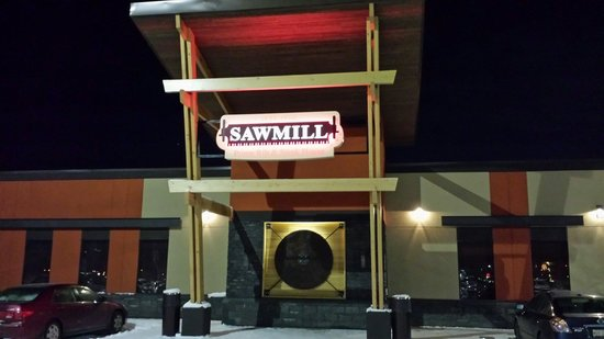 Sawmill Prime Rib & Steakhouse-FORT SASKATCHEWAN: Entrance