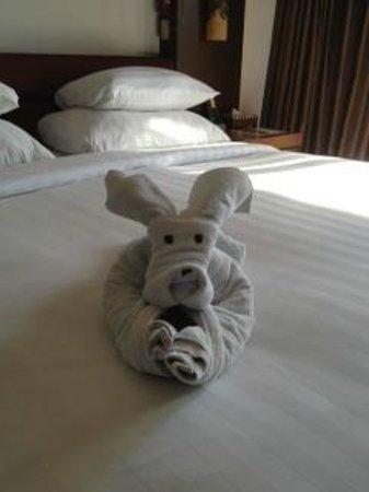 The Seminyak Beach Resort & Spa: Towel animal