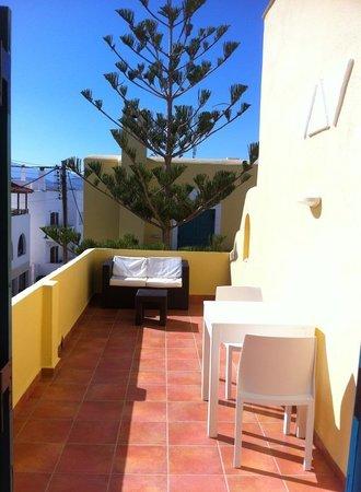 Hotel Grotta: nice balcony